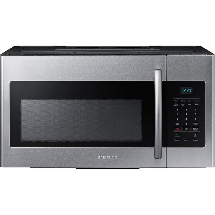 Samsung 1.6 Cu. Ft. Over-the-Range Microwave - Stainless Steel