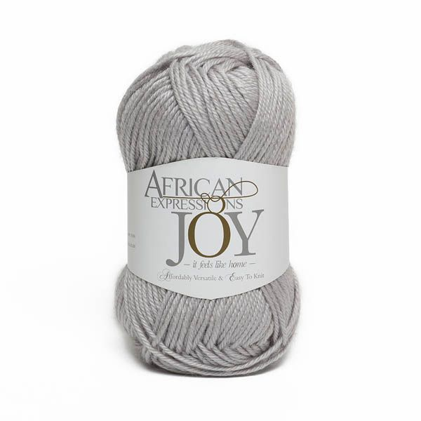 Colour Joy Grey, Double knit weight,  African expressions 1057, knitting yarn, knitting wool, crochet yarn, kid mohair yarn, merino wool, natural fibres yarn.