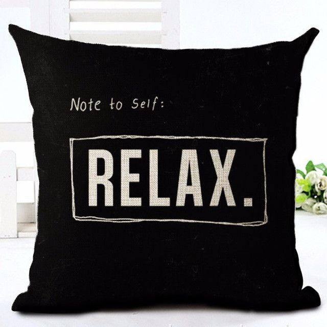 Black and White Cushion Covers For Sofa