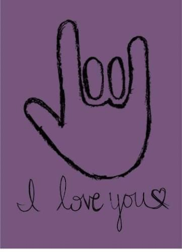 A special sign language to express your #love not in words but with a gesture~ #love #ecard. www.123greetings.com