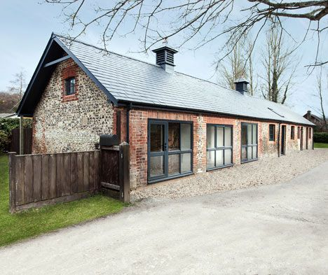 Manor House Stables by AR Design Studio, Hampshire, England, now a family home