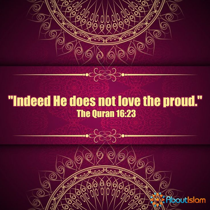 Note to self: don't be proud.   #IslamicBehaviour #Quran #Humble