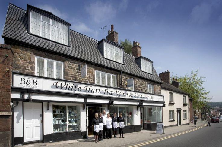 The White Hart Tea Rooms - Market Place