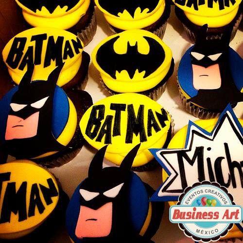 Batman Cupcake Cake Ideas