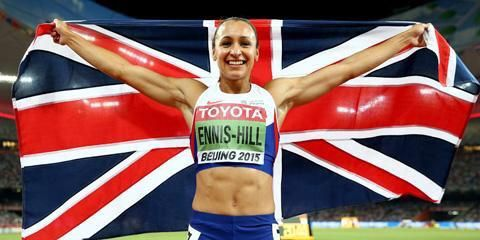 LET'S HEAR IT FOR WORKING MOTHERS. Jessica Ennis-Hill wins fair, square and clean, and is an ideal role model for all of us.