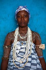 Young girl from the Krobo tribal group wear traditional  beads (anthony pappone photography) Tags: africa travel girls portrait people colors girl beautiful beauty festival digital canon pose photo beads colorful colours colore child body expression retrato african ceremony picture tribal wear ghana portraiture westafrica tribes afrika tradition ethnic rite colori ritratto viaggio beaded blackgirl corpo necklaces reportage ragazza collane initiation afrique dipo cerimonia tribu phototravel…