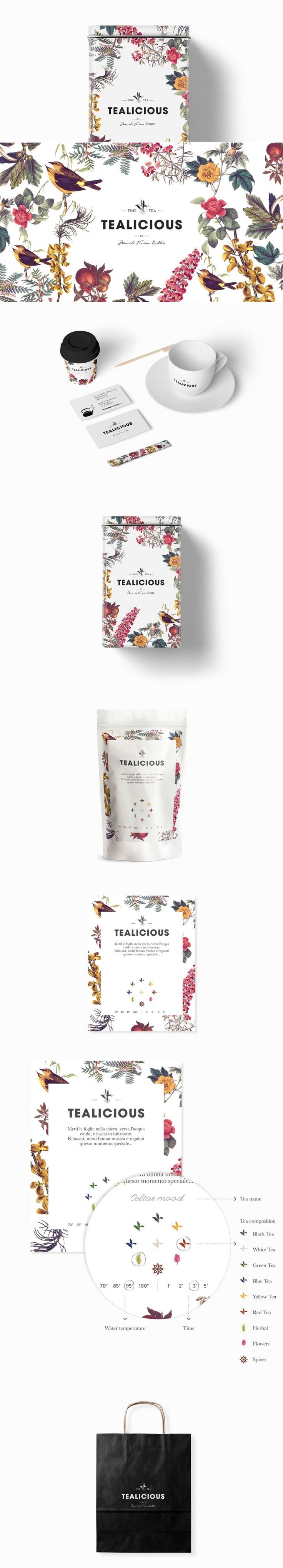 Tealicious — The Dieline | Packaging & Branding Design & Innovation News