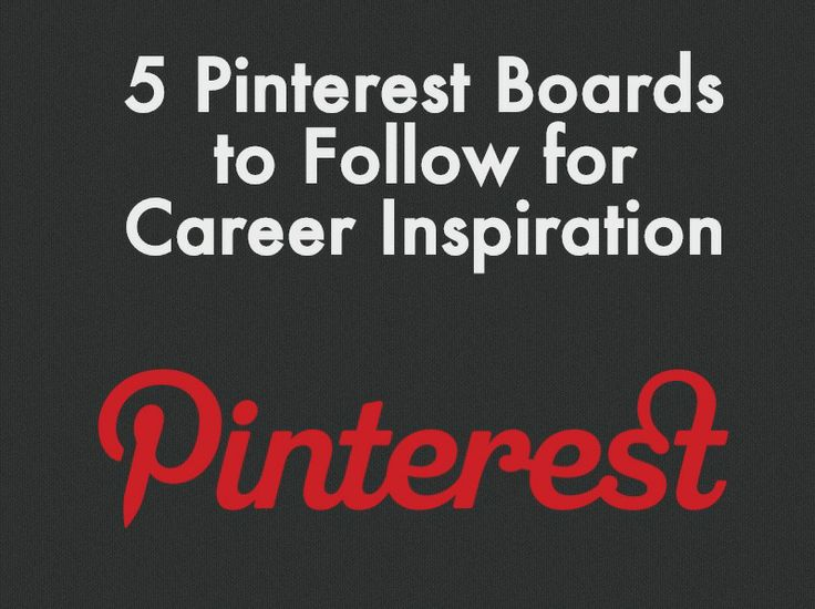 The Best Career Pinspiration