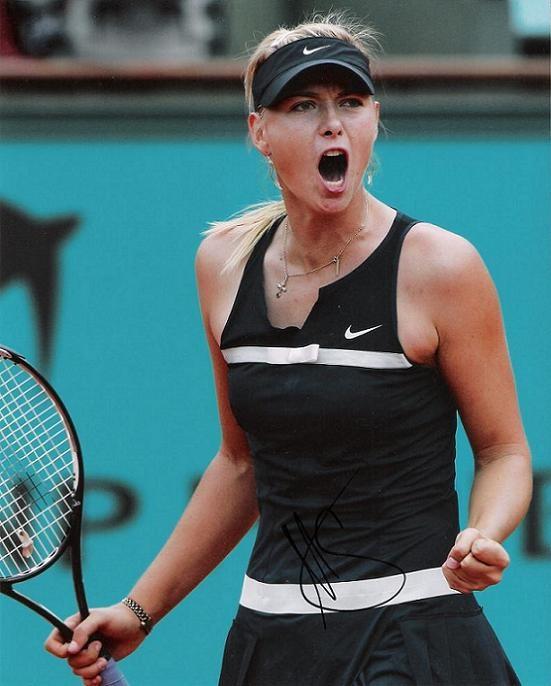 Maria Sharapova Signed Photo