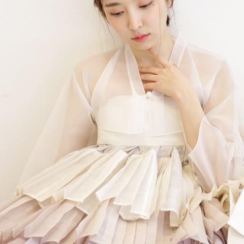 무지기치마 #한복 #바느질풍경 #hanbok #한복사진