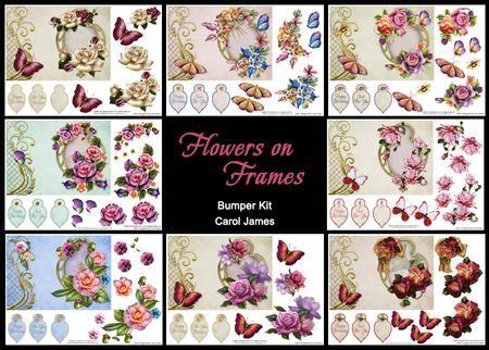 Flowers on Frames Bumper Kit