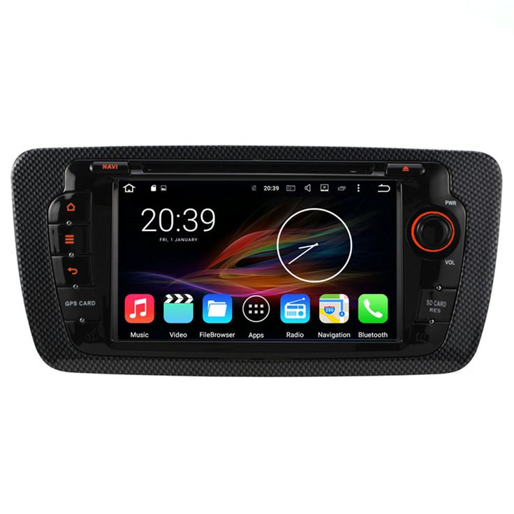 "7"" Android Autoradio Car Multimedia Stereo GPS Navigation DVD Radio Audio Head Unit Seat Ibiza 2009 2010 2011 2012 2013 2014"
