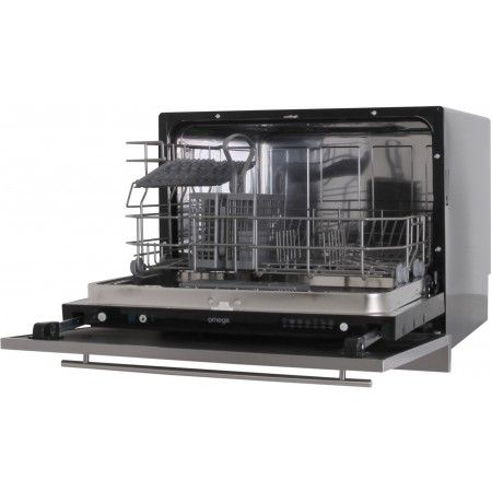 Omega - 6 Place Setting, Single Draw Dishwasher, Fully Integrated