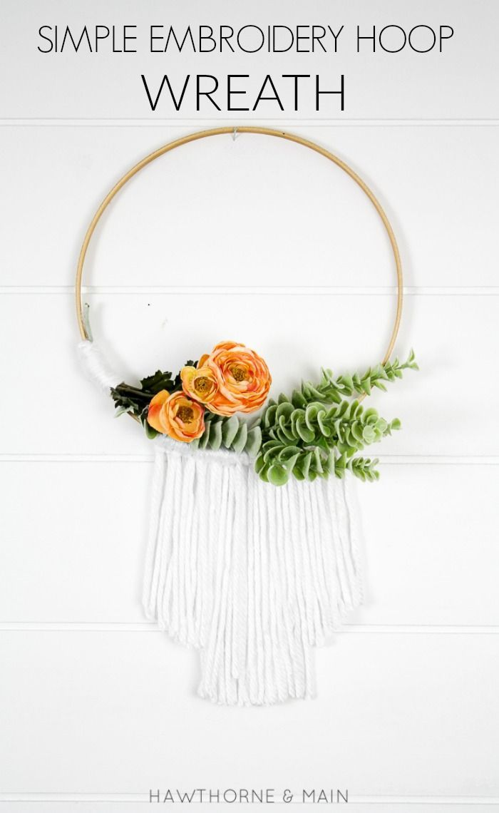 Best ideas about embroidery hoop decor on pinterest