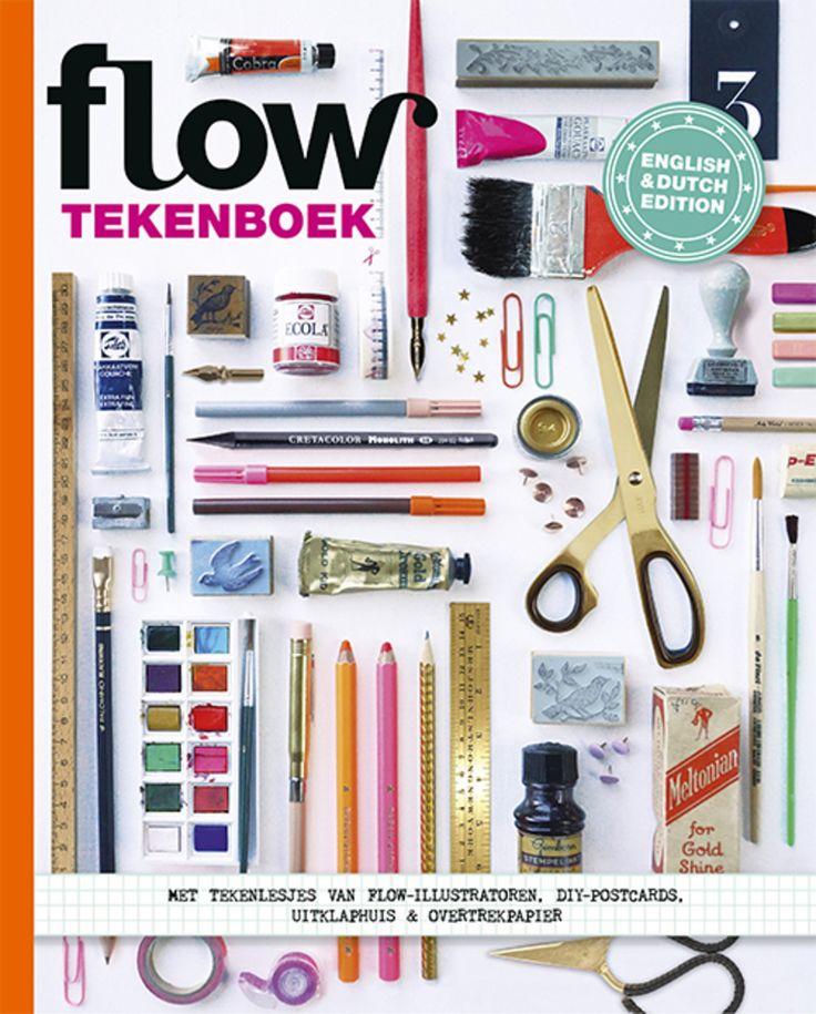 Flow 2016 - Tekenboek.