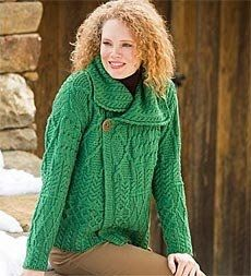 Irish Knit Sweaters and Cardigans