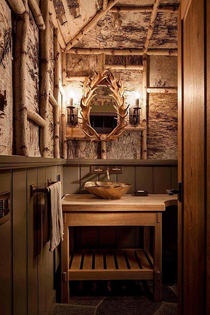 641 Best Rustic Bathrooms Images On Pinterest Bathroom