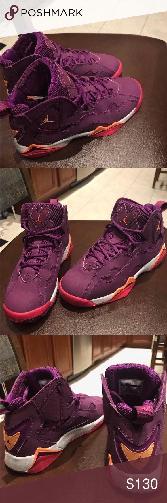 Jordan true flights Worn twice, price is negotiable. Jordan Shoes Sneakers