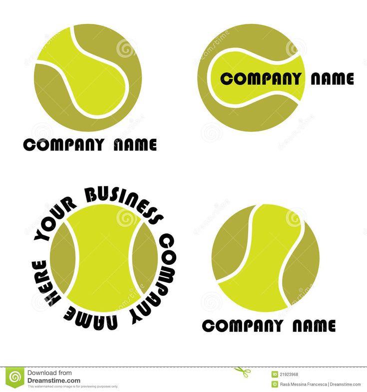 Tennis Logo Set Royalty Free Stock Photos - Image: 21923968