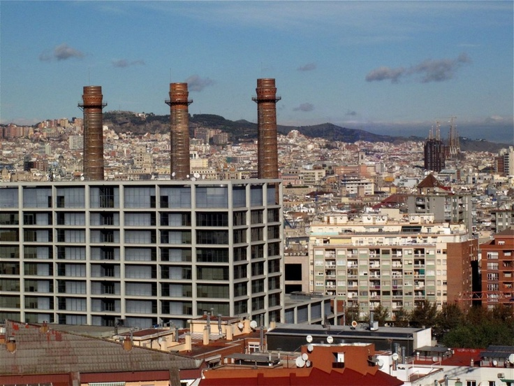 17 best images about chimeneas on pinterest sierra nevada algarve and granada - Chimeneas barcelona ...