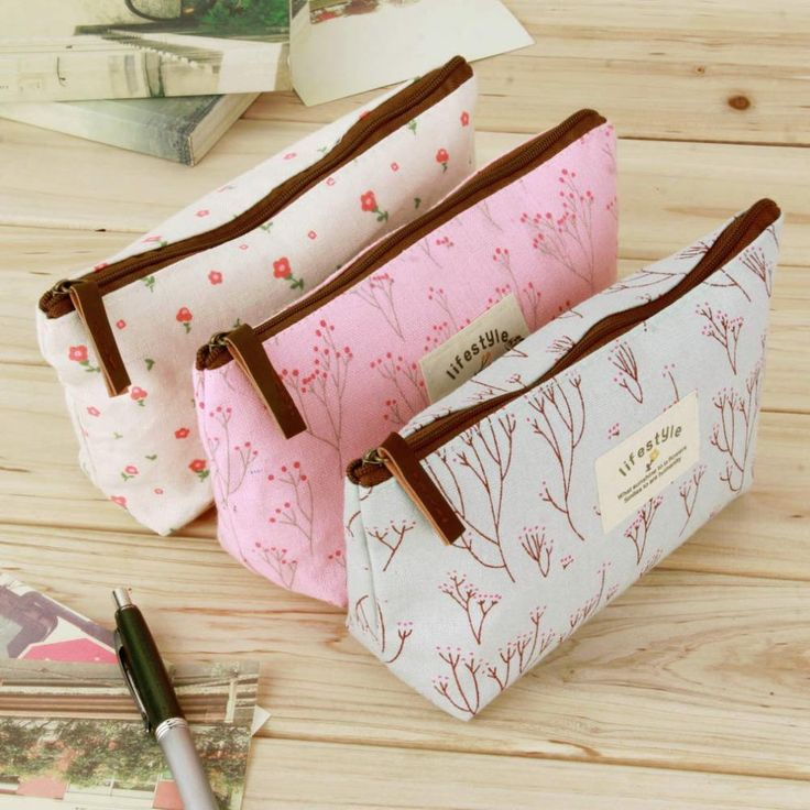Hot Sale New Flower Floral Pencil Pen Canvas Case Pencil Cases  Cosmetic Makeup Tool Bag Storage Pouch Purse #>=#>=#>=#>=#> Click on the pin to check out discount price, color, size, shipping, etc. Save and like it!