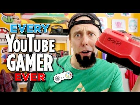 An Amusing Portrayal of 'Every YouTube Gamer Ever' in a Comedy Sketch by CollegeHumor