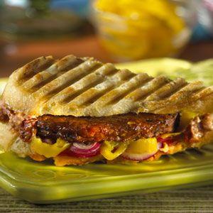 MorningStar Farms® Black Bean Burger Panini