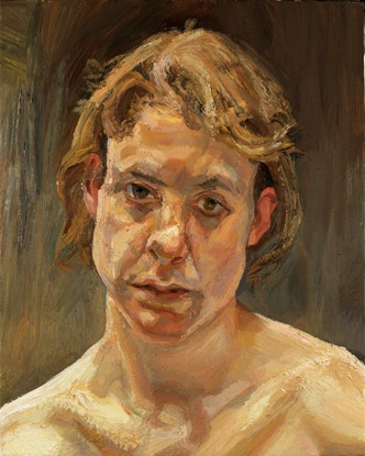 lucien freud: I like the texture of the paint in this piece.