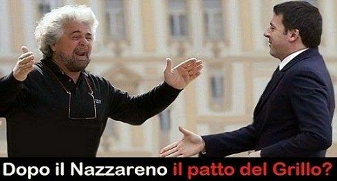 """freeskipper : Grillo si rimangia la """"e"""" di Renzi(e) e strizza l'..."""