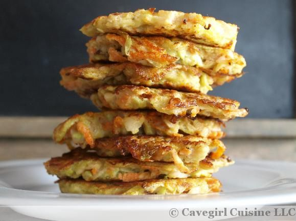 Chayote (or sub zucchini) and Carrot Patties