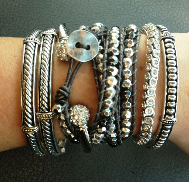 FAB Premier Designs arm party!!  Find me on Facebook for more awesome combos!! Premier-Lady Bling Slinger