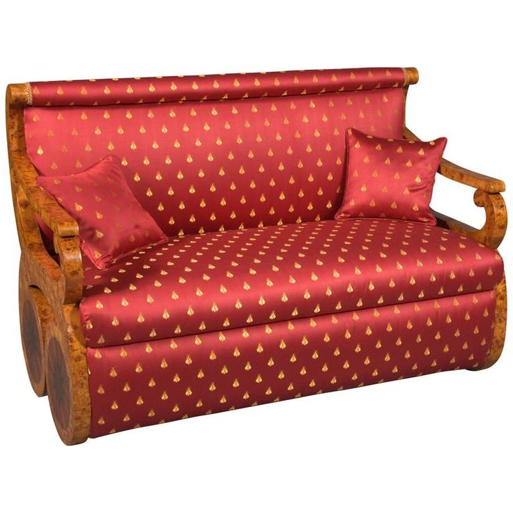 Kanapee Sofa in Viennese Biedermeier Style | From a unique collection of antique and modern sofas at https://www.1stdibs.com/furniture/seating/sofas/