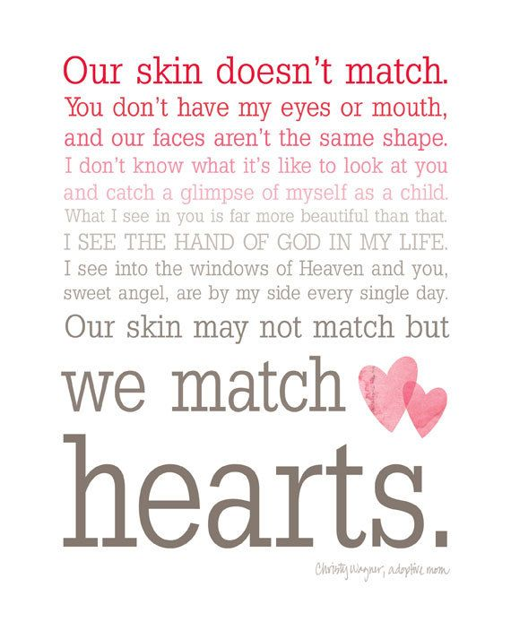 We Match Hearts  Pink Ombre Typography Wall Art  by wallpost, $15.00