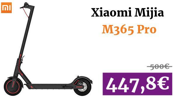 Xiaomi Mijia M365 Pro Patinete Eléctrico Vadegangas Amazon Patineta Electrica