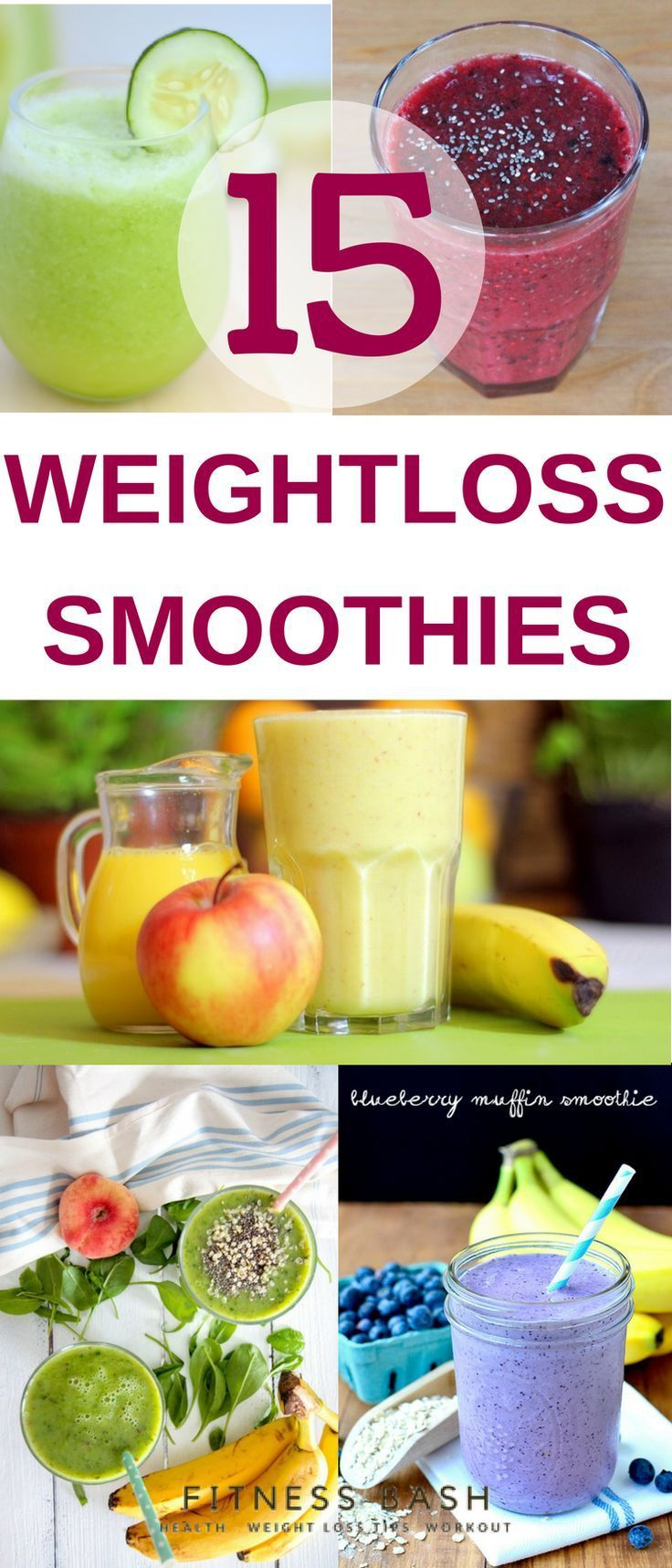 Meal replacement weight loss smoothies for easy breakfast. Try out these rapid f…