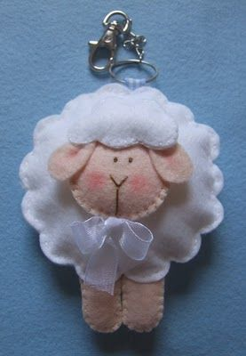 Yep, finally found the little Lamb I can make today for primary music tomorrow about the Savior - finding the 1 and tending to the 99!: