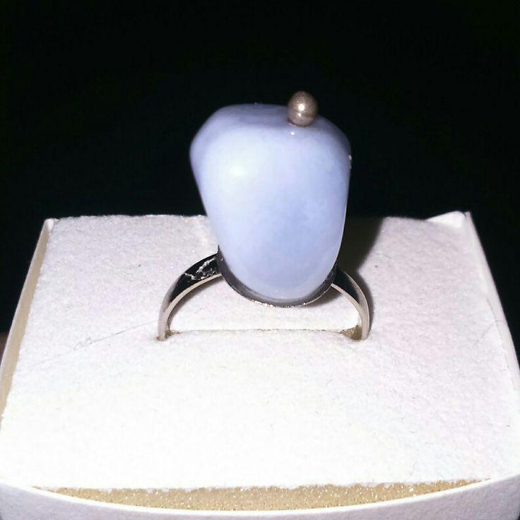 Light blue stone..
