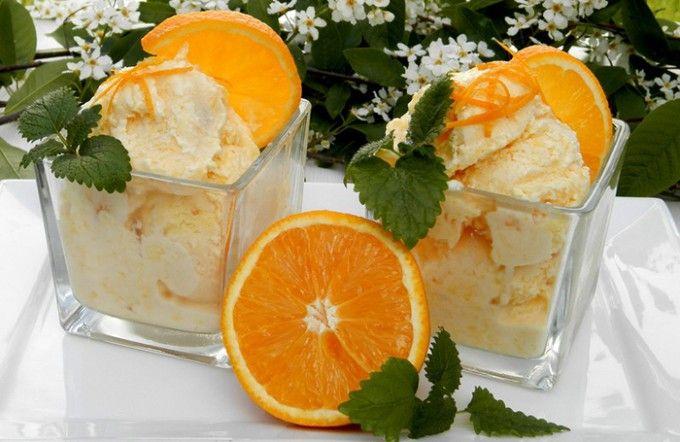 Domácí pomerančová zmrzlina | NejRecept.cz