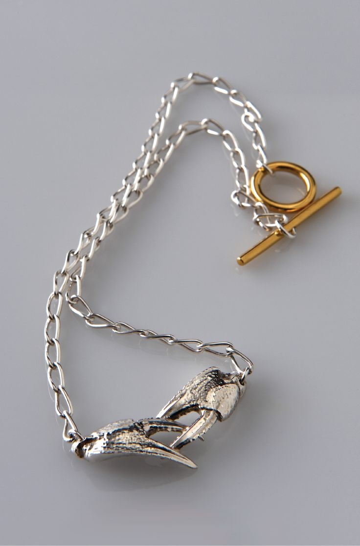 Lucy Folk presents SEAFOOD - 2010 - SAND CRAB NECKLACE