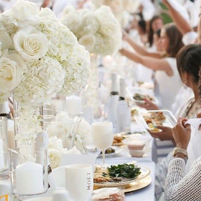 Diner En Blanc White Decor Pinterest Diner En Blanc