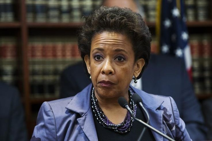 "United States Attorney Loretta E. Lynch speaks during an announcement of the arrest of Abraxas J. (""... - REUTERS/Lucas Jackson"