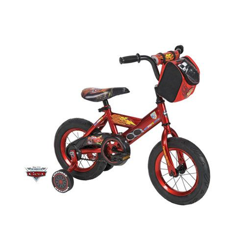 """Huffy Disney Cars 12"""" Boys' Bike. Laken just got one of these. It's going to take some time for us all to love it :)"""