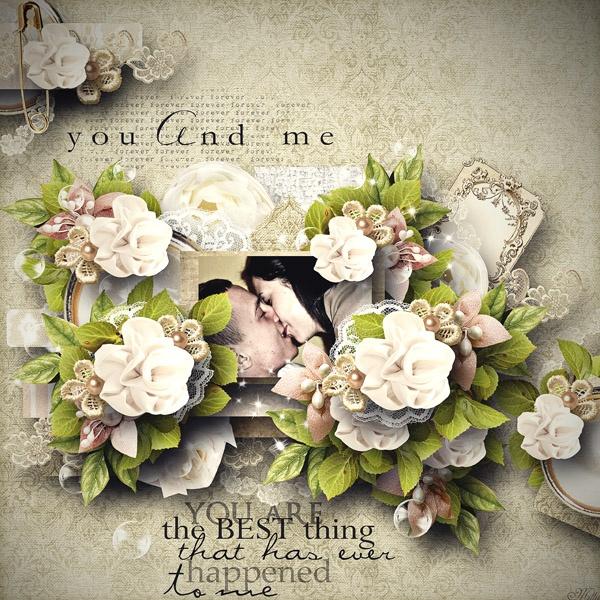 "Celebrate by Lilas Digiscrap  Template freebie ""Dream Land 4"" by Eudora Chen"