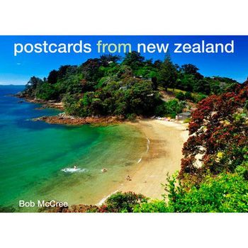 New Zealand Postcards from New Zealand Book