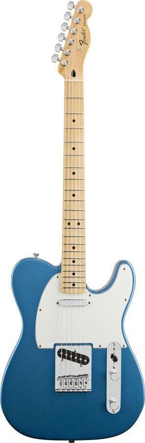 For guitarists everywhere who appreciate great style, rich and versatile tone, and excellent value, the Standard Telecaster is an elegant and affordable classic with a great combination of traditional