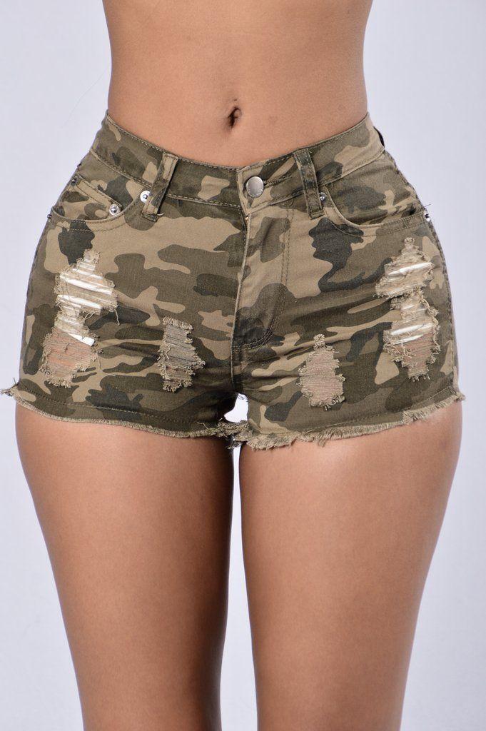 All Summer Shorts - Camo