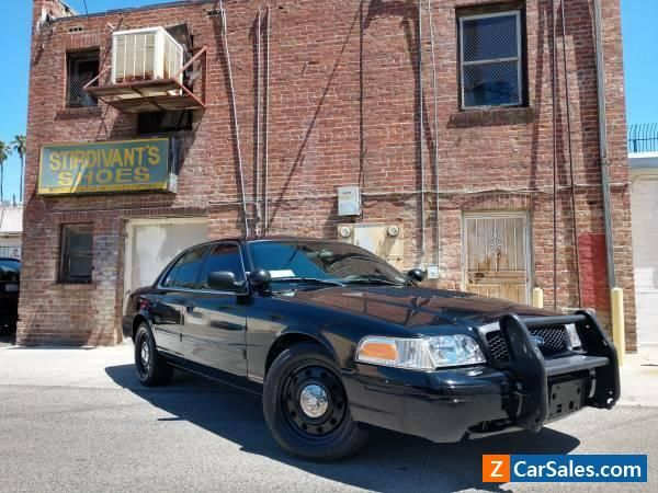 Car For Sale 2011 Ford Crown Victoria Interceptor