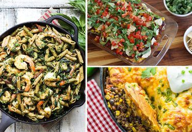 19 Easy Weeknight Dinners You'll Never Get Bored Of