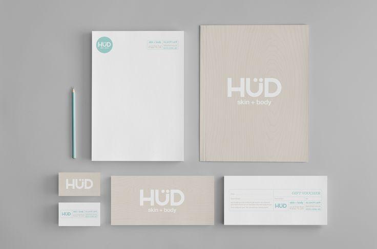 Hud _ Skin & Body. Branding and Identity Design.
