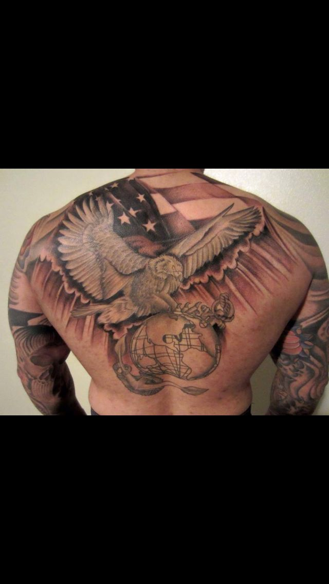 233 best marine ink images on pinterest army tattoos military tattoos and usmc tattoos. Black Bedroom Furniture Sets. Home Design Ideas